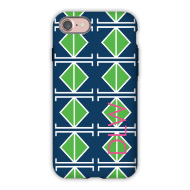 Monogram iPhone 7 / 7 Plus Case - Table Tennis by Dabney Lee