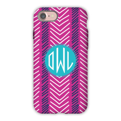 Monogram iPhone 7 / 7 Plus Case - Topstitch by Dabney Lee