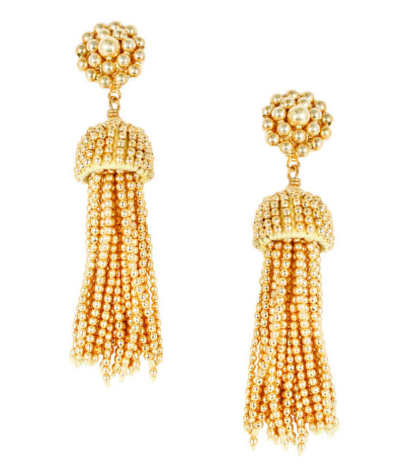 Tassel Earrings Gold - Lisi Lerch