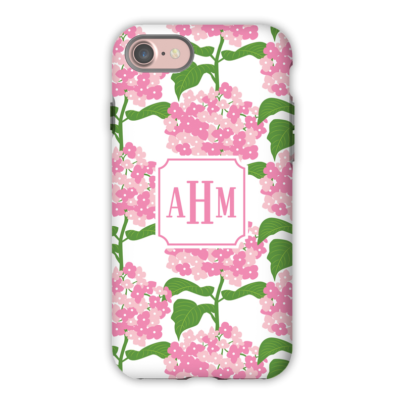 966824de30b53 Monogram iPhone X Case - Sconset Pink - Boatman Geller