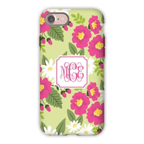 Monogram iPhone 7 / 7 Plus Case - Lillian Floral Bright by Boatman Geller