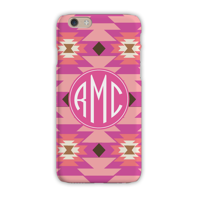Monogram iphone 7 7 plus case arizona pink clairebella for Clairebella