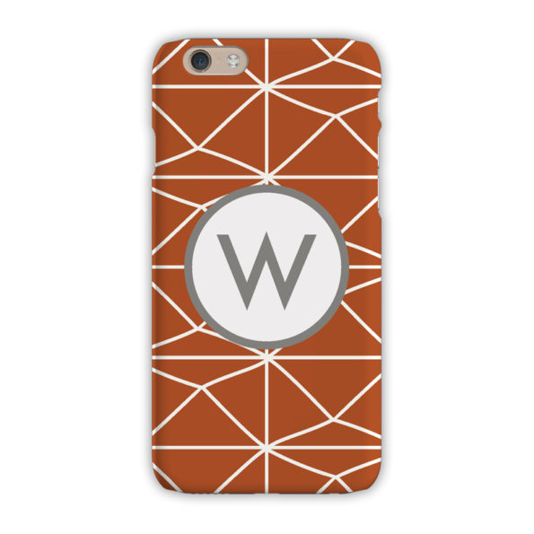 Monogram iPhone 7 / 7 Plus Case - Pyramids Clay - Clairebella
