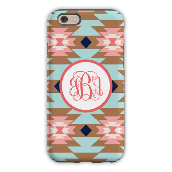 Monogram iPhone 7 / 7 Plus Case - Arizona Brown - Clairebella