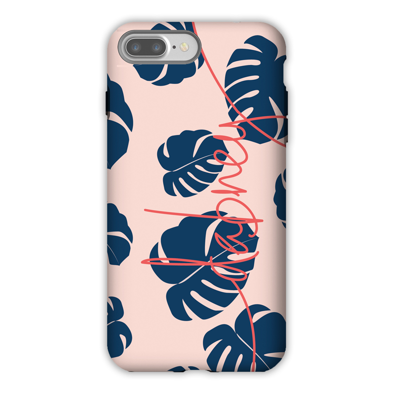 Monogram iPhone 7 / 7 Plus Case - Fronds by Dabney Lee