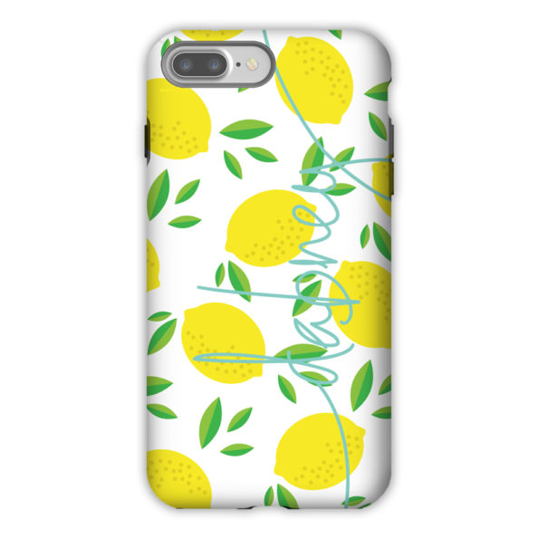 Monogram iPhone 7 / 7 Plus Case - Life's Lemons by Dabney Lee