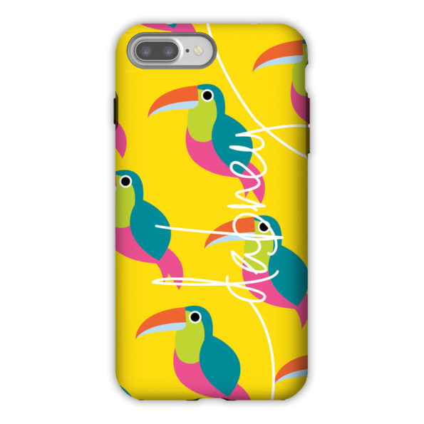 Monogram iPhone 7 / 7 Plus Case - Toucans by Dabney Lee
