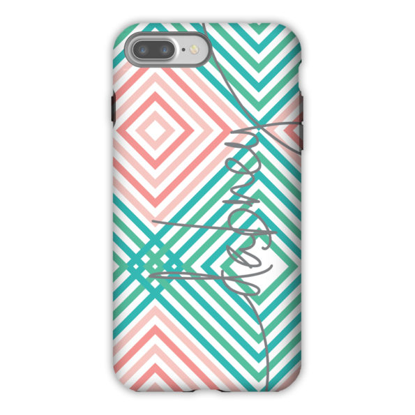 Monogram iPhone 7 / 7 Plus Case - Somersault by Dabney Lee