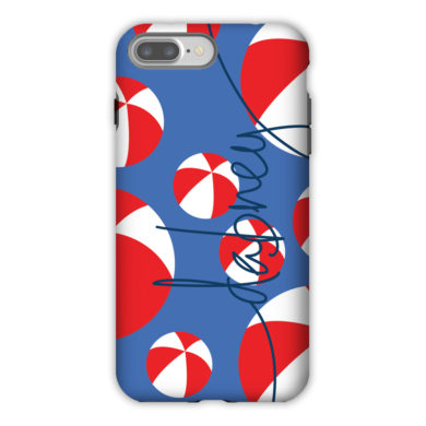 Monogram iPhone 7 / 7 Plus Case - Beach Balls by Dabney Lee
