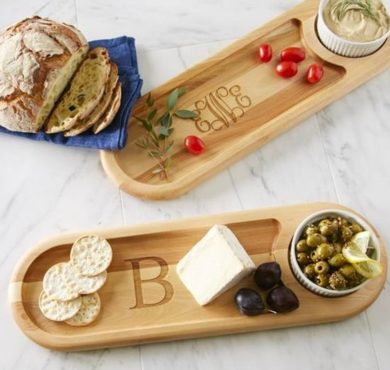 Monogram Wood Cutting Boards