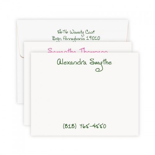 Lively Note Cards - Chatsworth Collection