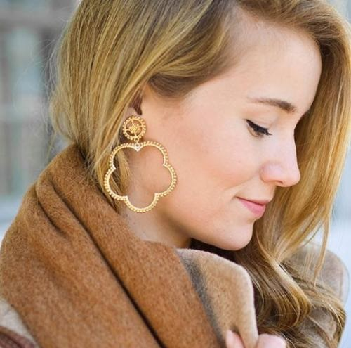 Bobbi Earrings - Gold - Lisi Lerch