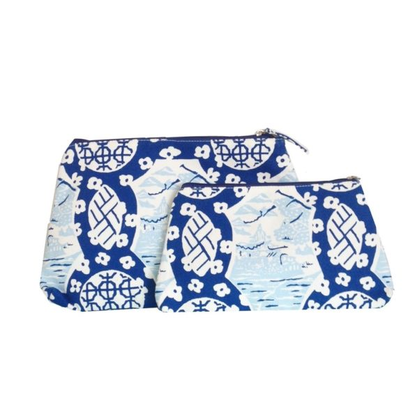 Canton Blue Travel Bag by Dana Gibson