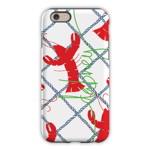 Monogram iPhone 8 / 8 Plus Case - Rock Lobster by Dabney Lee