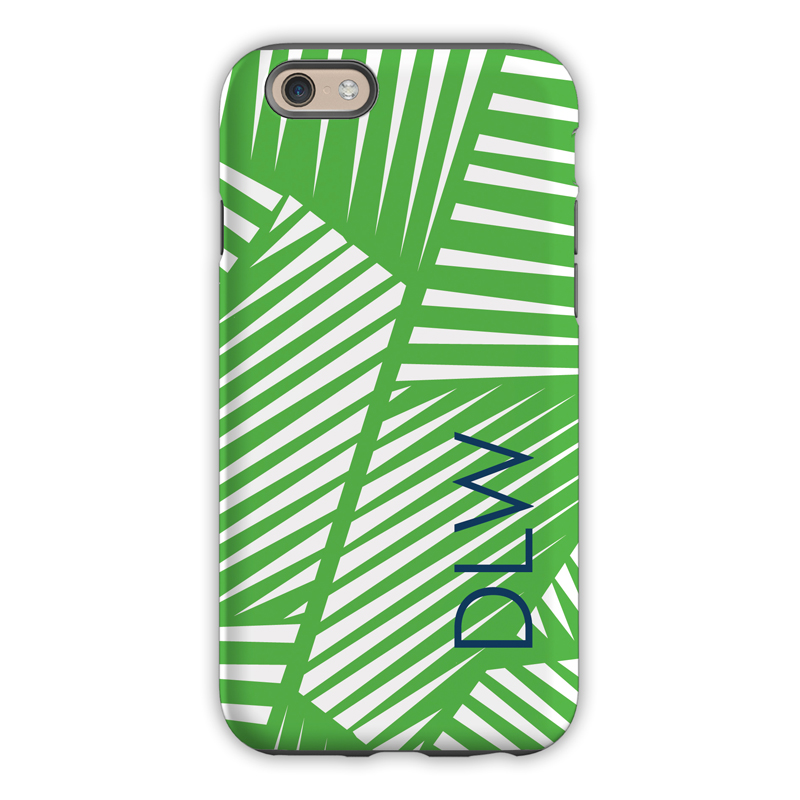 4d507f73fa3ff Monogram iPhone X Case - Palms - Dabney Lee