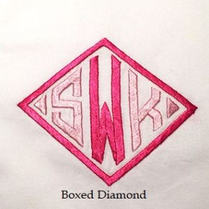 Boxed Diamond