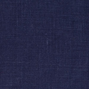 Navy Smooth Linen with Vinyl Coating