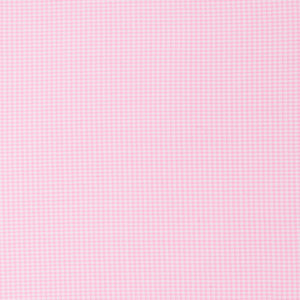 Pink Mini Gingham with Vinyl Coating