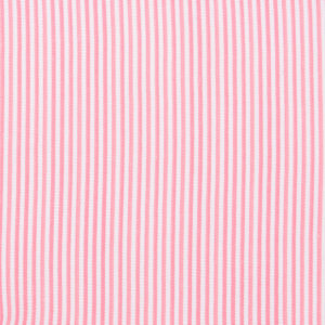 Pink Pinstripe with Vinyl Coating