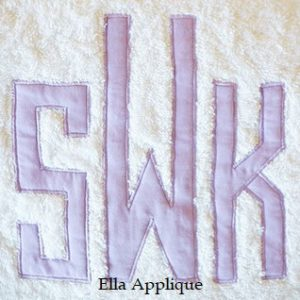 Ella Applique