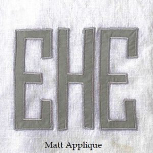 Matt Applique