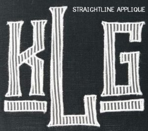 Straightline Applique