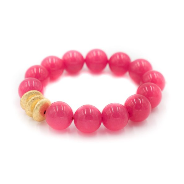 Sheldon Bracelet Hot Pink - Hazen & Co.