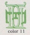 Color 11 - Mint Green-Kelly Green