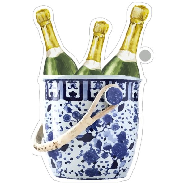 Champagne Bucket Die-Cut Gift Tags - WH Hostess
