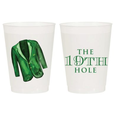 19th Hole - the Masters Frost Flex Cups - Sip Hip Hooray