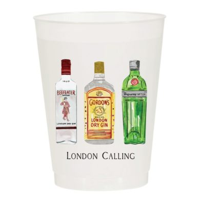 London Calling Frost Flex Cups - Sip Hip Hooray