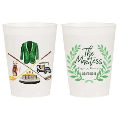 The Masters 2021 Frost Flex Cups - Sip Hip Hooray